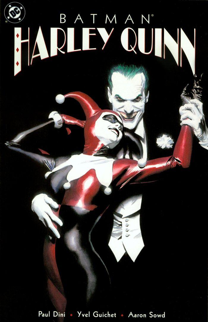 1b2f4dcfe9a20 DC Comics cover. Joker and Harley Quinn. Batman Comic. | Art.soul ...