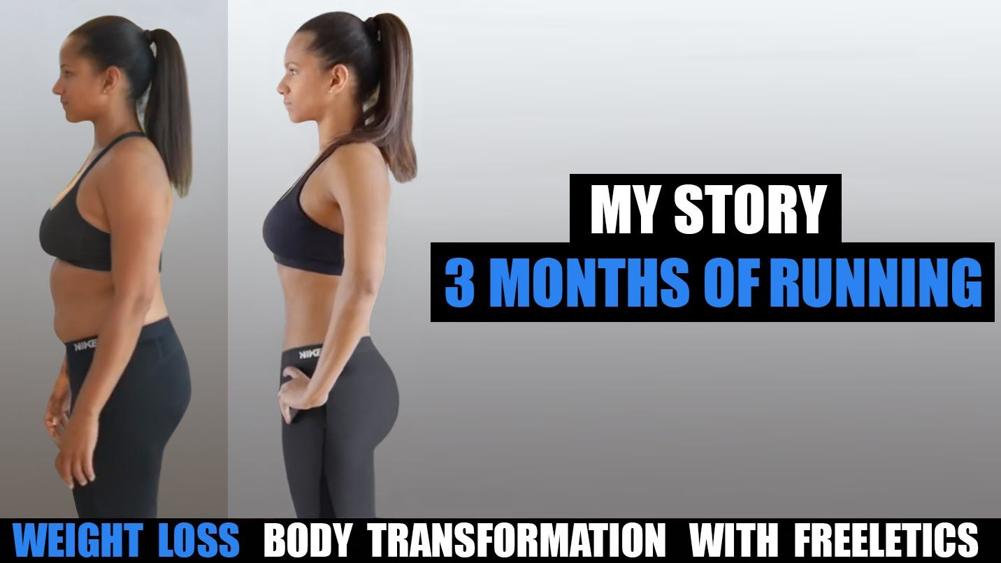 My 3 Month Bikini Body Weight Loss Transformation With Freeletics Running