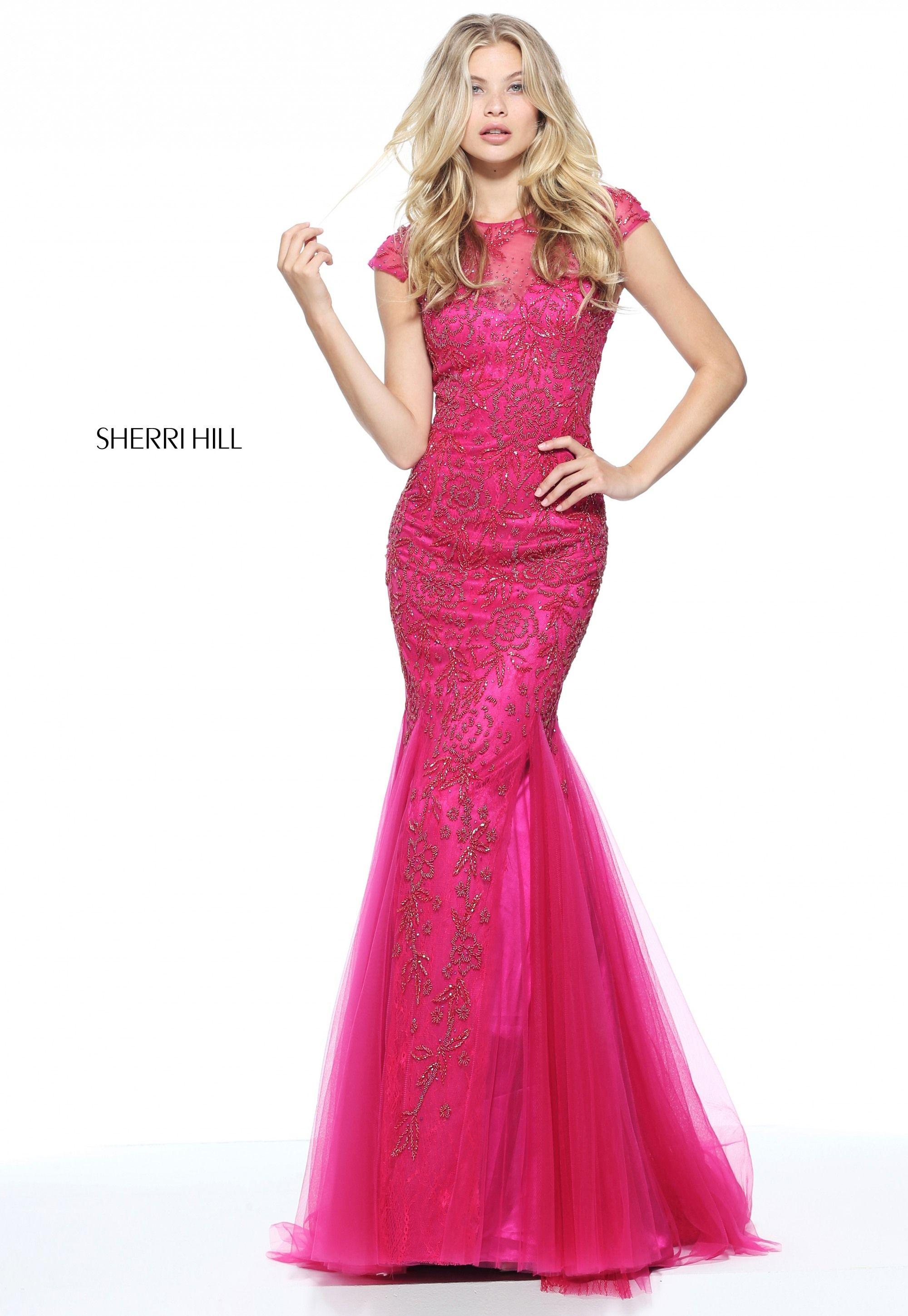 Sherri Hill 51117- International Prom Association | Sherri Hill Prom ...