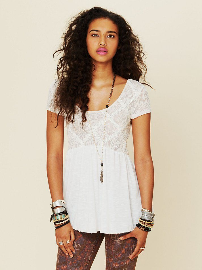 33a3fa0c49df76 Free People Extreme Babydoll Tunic