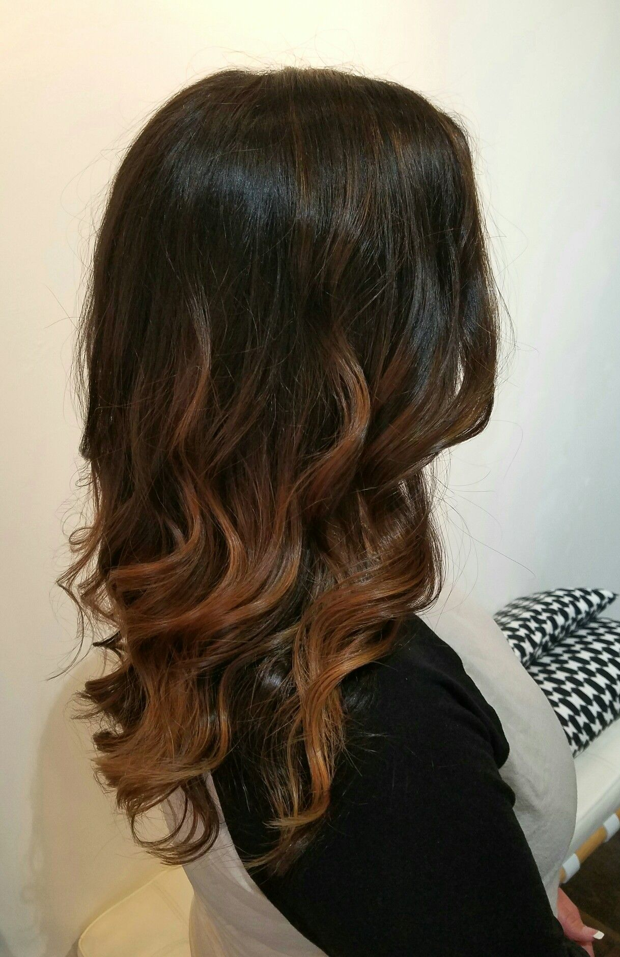 balayage  ombre brunette