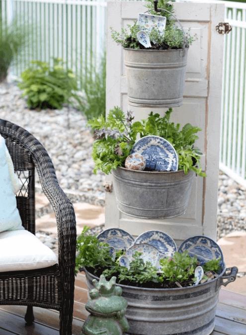 75 best garden décor design and diy ideas herb garden in kitchen outdoor flowers amazing on outdoor kitchen herb garden id=27054