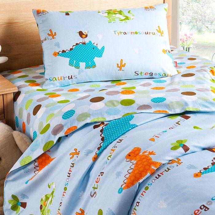 Dinosaur World Twin Bedding Kids Bedding Cotton Bedding Dinosaur Toddler Bedding Kids Bedding Sets Cotton Bedding