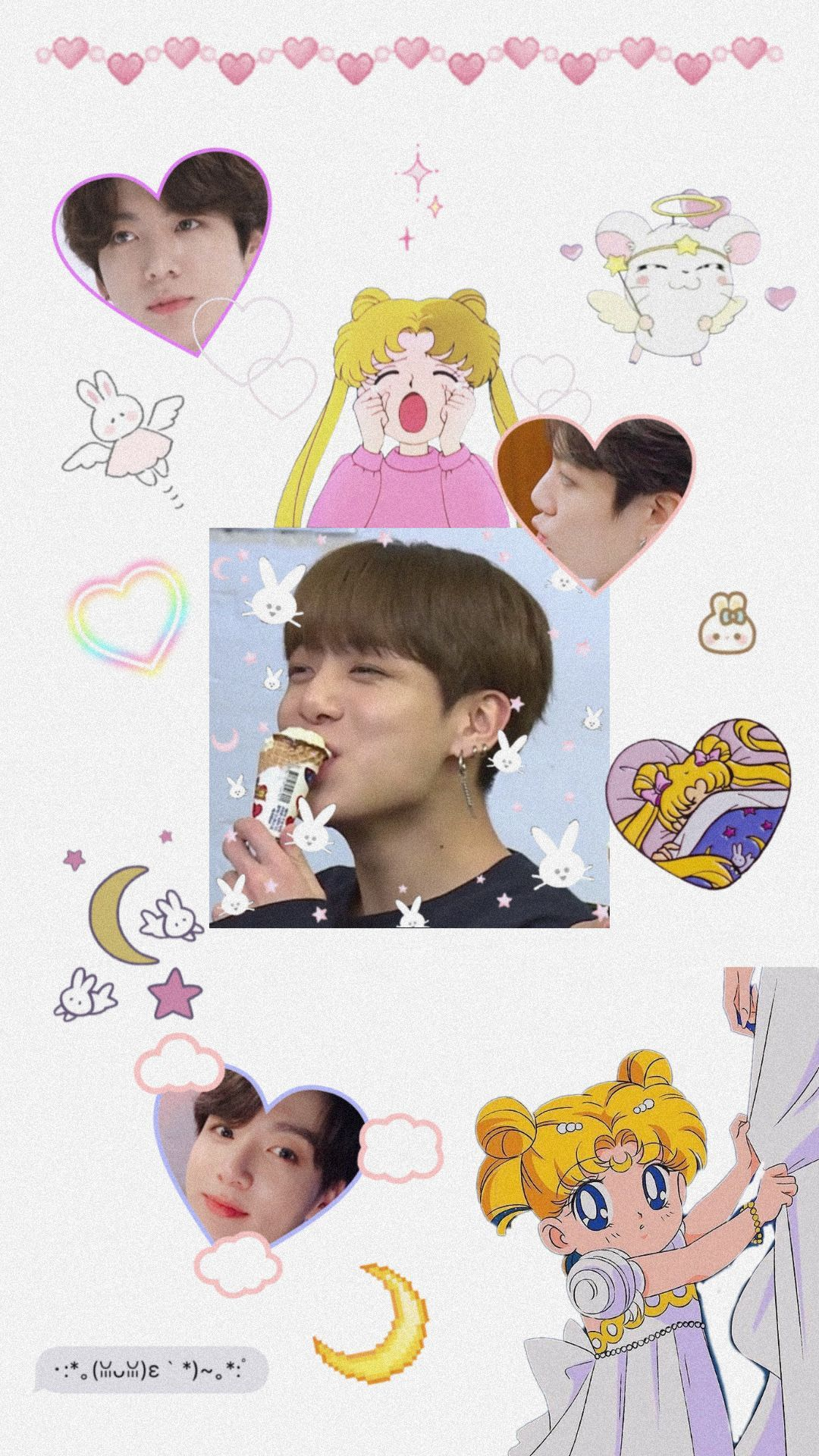 Bts Wallpapers Iphone Wallpaper Bts Bts Wallpaper Sailor Moon Wallpaper Cute bts wallpaper iphone