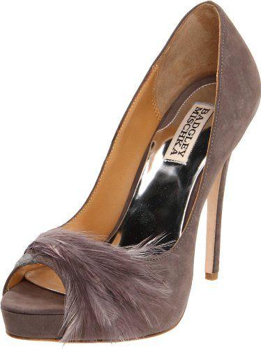 Amazon.com: Badgley Mischka Womens Ginnie Peep-Toe Pump