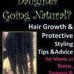3 Tipps für Mütter mit Töchtern, die wieder zu natürlichem Haar wechseln,  #die #für #Haar #m... #naturalhairjourney