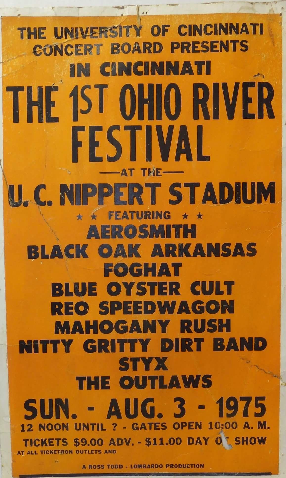 Ohio River Festival Concert At Nippert Stadium