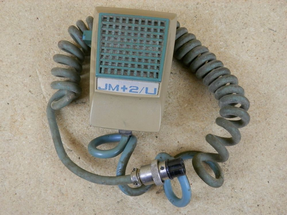 Vintage Turner JM+2/U CB HAM Radio Power Amplified