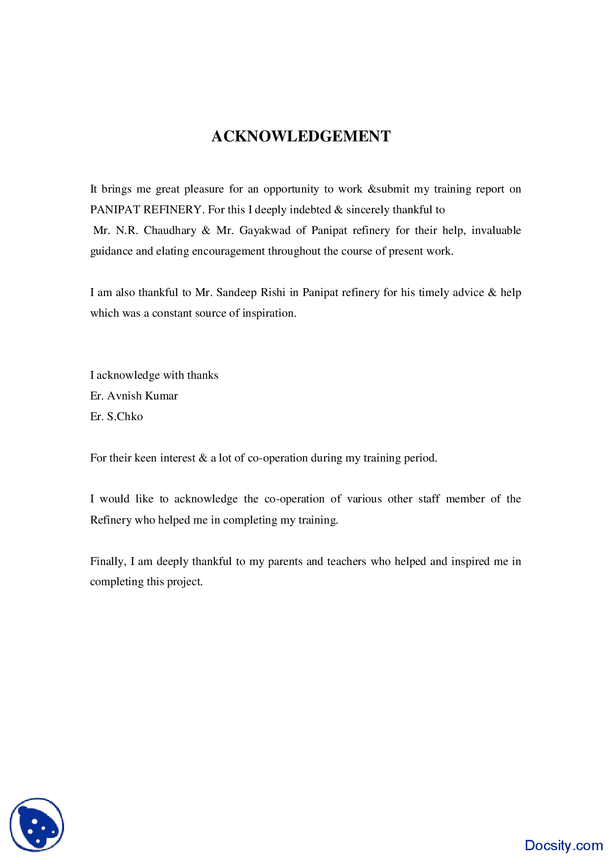 Writing Acknowledgements Dissertation Acknowledgements 9 An