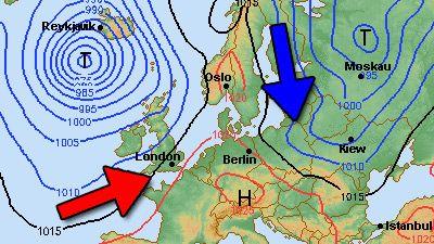 Das Wetter am Wochenende 11.1./12.1.14 Kommt die Kälte und der Winter?