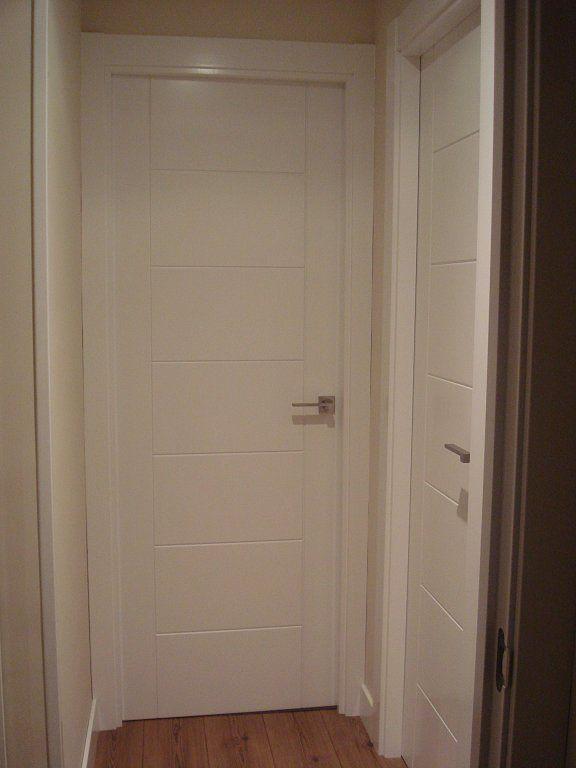 El post de las casas con puertas blancas doors indoor - Puertas paso blancas ...