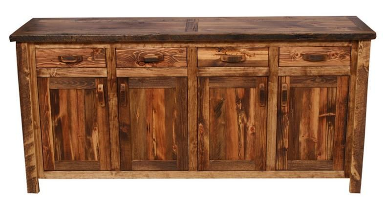 Weathered Pine Buffet In 2019 Rustic Buffet Rustic Buffet Tables Buffet