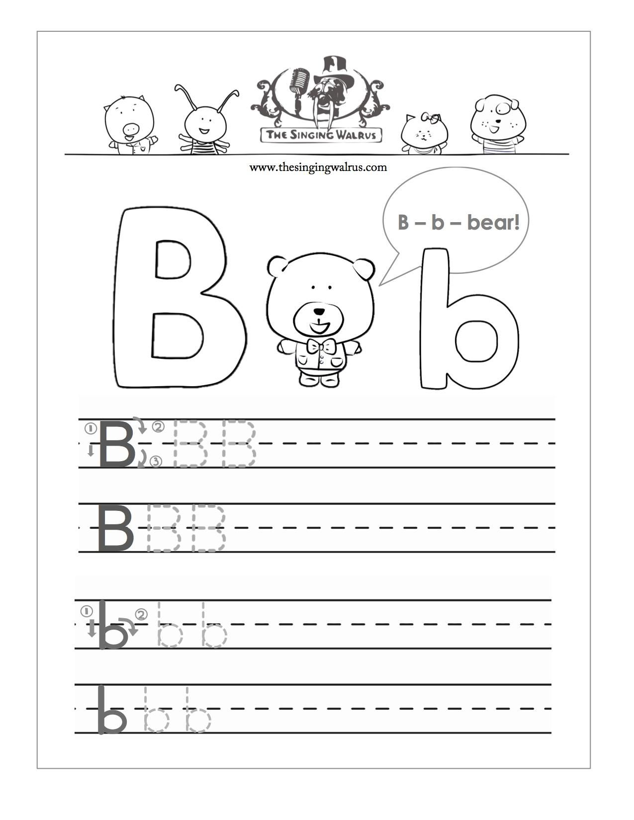 Fine Free Letter Practice Worksheets That You Must Know