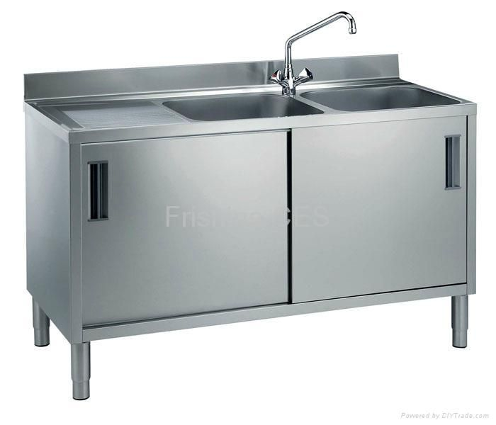 commercial kitchen cabinets stainless steel stainless steel sink cabinet part 10 13751