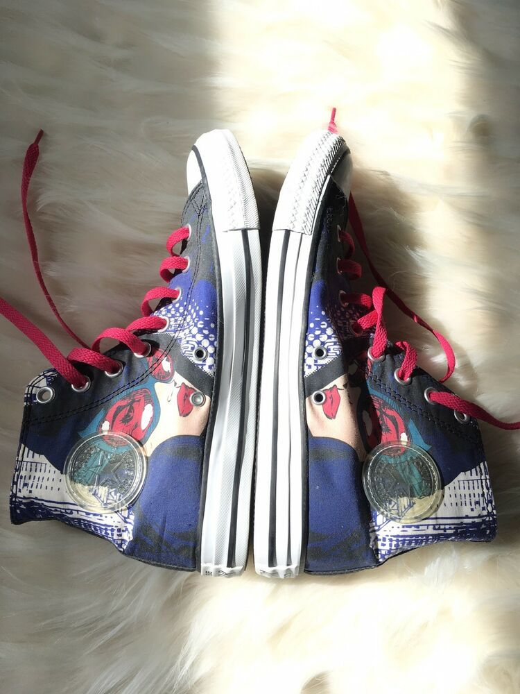 07dda3fcd3f Converse All Star Cat Woman High Tops Women s Size 10 Chuck Taylor  Converse   HiTopTrainerBoots