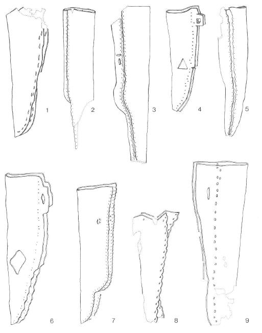 Sven's Haithabureise: Knife and leather sheath