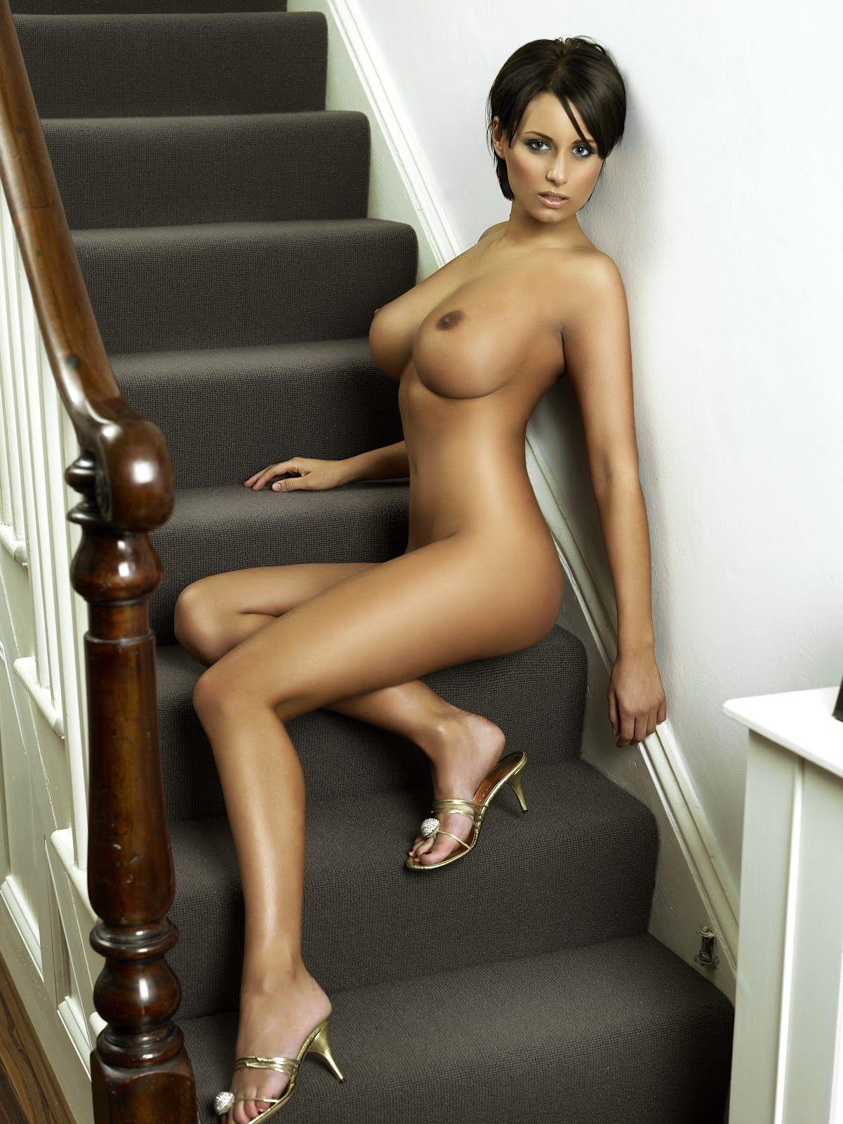 Skinny brunette slut