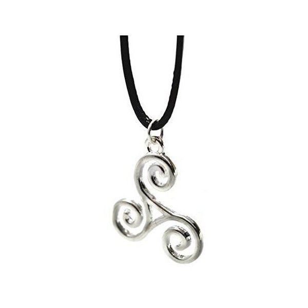 Teen wolf derek hale triskelion necklace pendant triskle charm teen wolf derek hale triskelion necklace pendant triskle charm 8 aloadofball Image collections