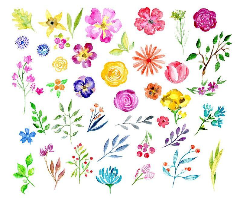 Free Watercolor Easter Printable Floral Watercolor Watercolor