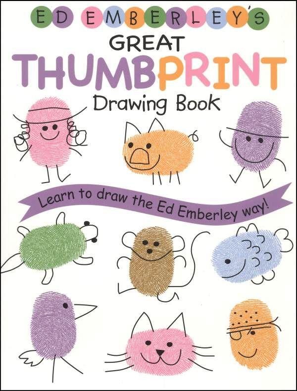 Thumb Print Book A Craft I Can Get Behind Thumbprint