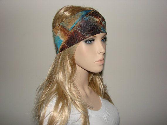 Yoga Headband Workout HeadbandTurban Headband by OtiliaBoutique, $14.00