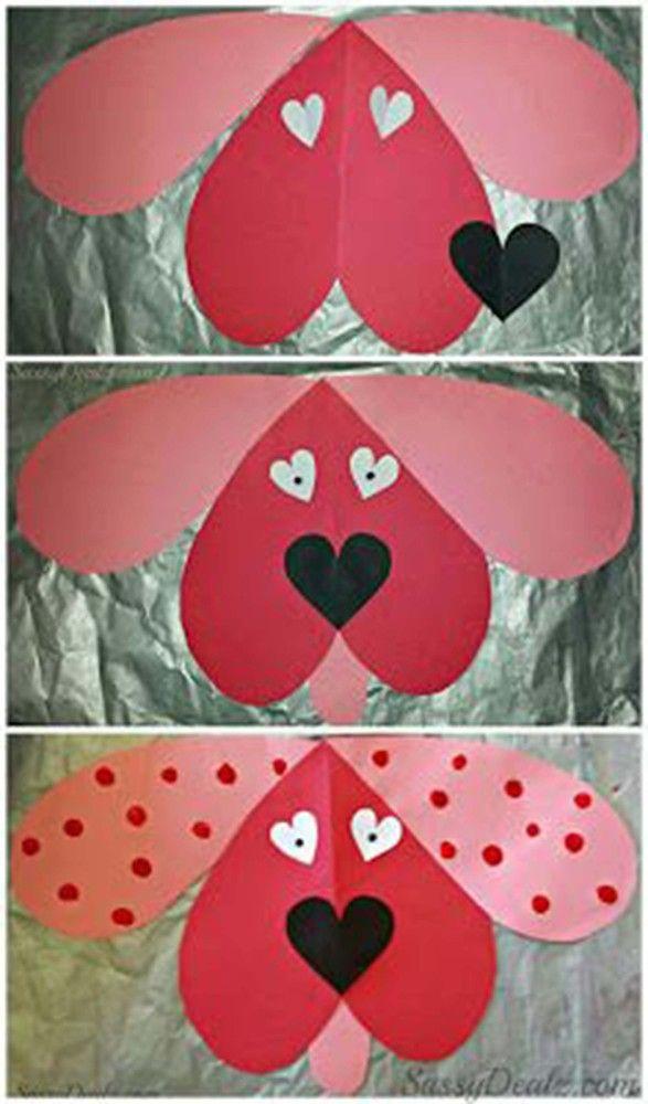 23 Easy Valentineu0027s Day Crafts That Require No Special Skills - valentine craftf