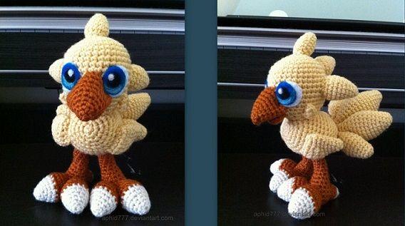 Amigurumi Vivi Free Patterns : Amigurumi chocobo crochetyamigurumis.com crochet pinterest
