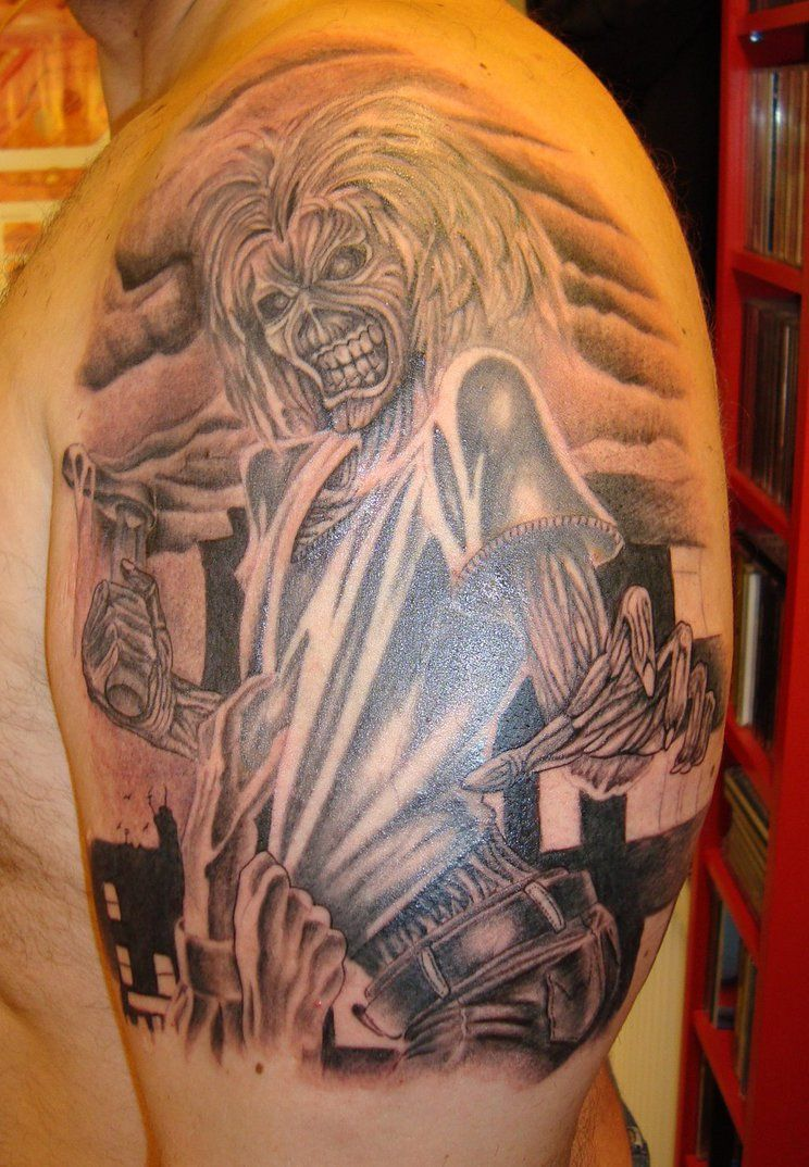 Discografia - Blog Iron Maiden Blood Brothers  |Iron Maiden Somewhere In Time Tattoo