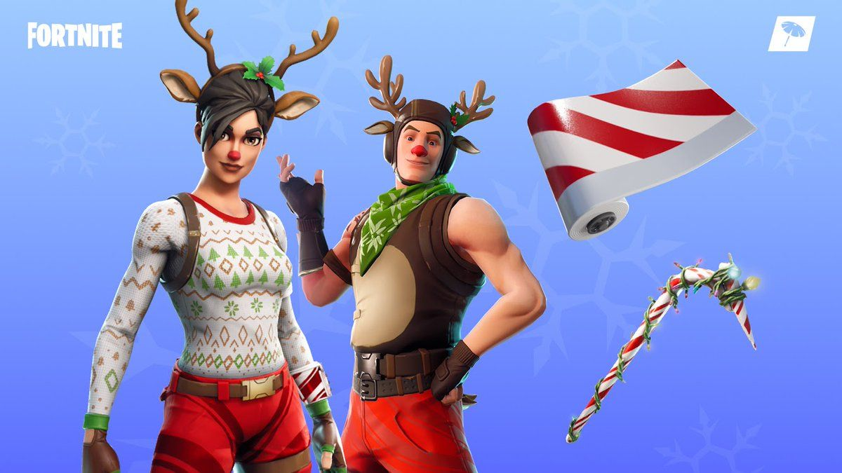Fortnite Item Shop 19th December Christmas Skins Candy Cane Wrap More The Fortnite Item Shop Has Updated For The 19 Skin Candy Red Nose Red Knight Fortnite