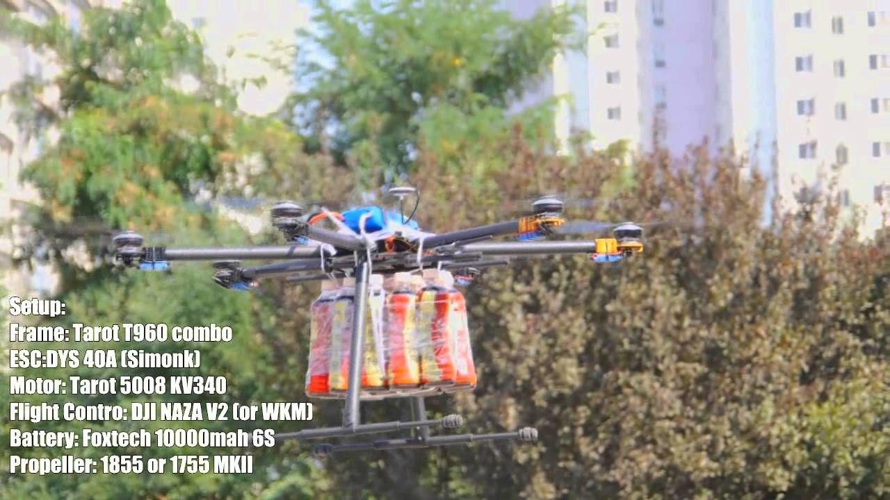 Foxtech T960 Heavy Duty Hexacopter COMBO | Drone | Uav drone