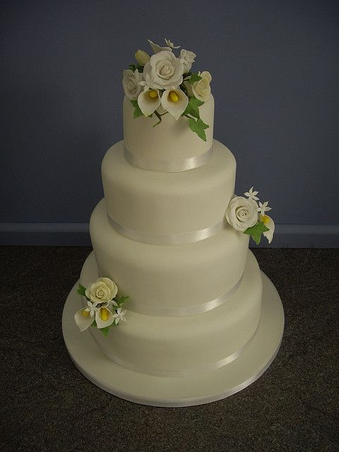 #Hand made icing flowers Wedding...  Thanks again for viewing...feel free to Pin, Like, or Comment!