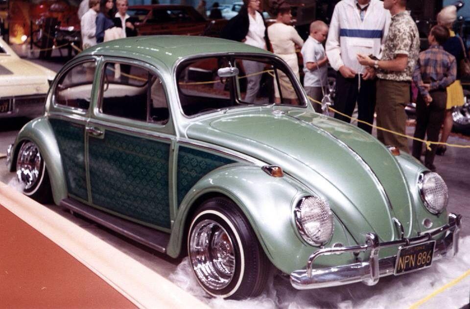 Vw Bug Custom Paint Lowrider Kustom 60s 70s Käfer Volkswagen