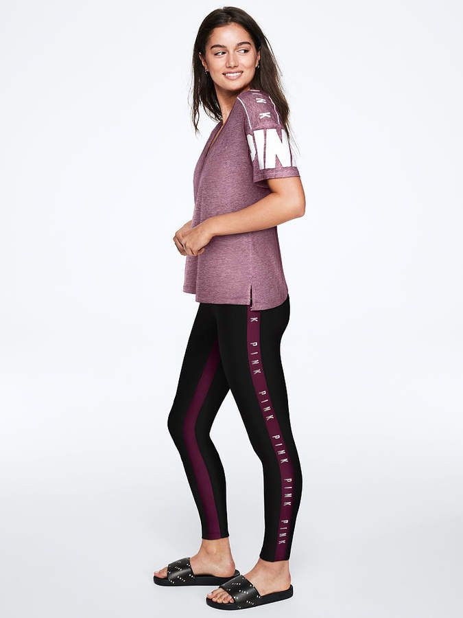 f8550a1f97c75 PINK Ultimate High Waist Colorblock Legging | Products in 2018 ...