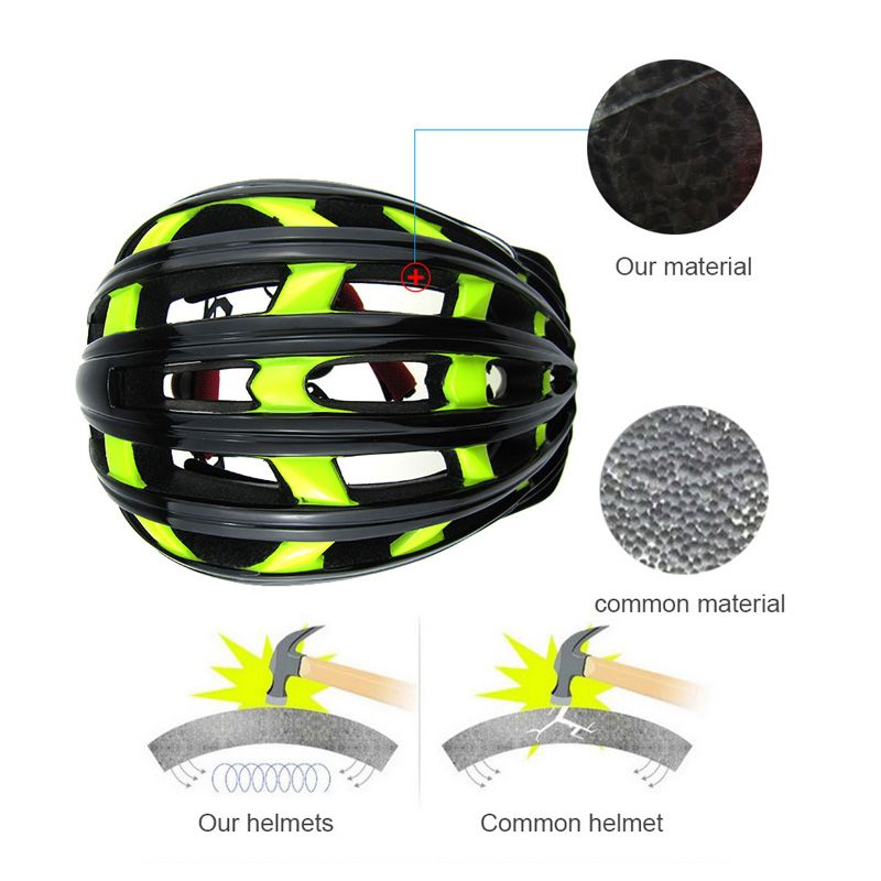 Aliexpress.com : Buy For Bikelee Night Road Cycling Helmet EPS+PC Bicycle Helmets Adjustable MTB Road Bicycle Helmet  from Reliable helmet dot suppliers on Better John