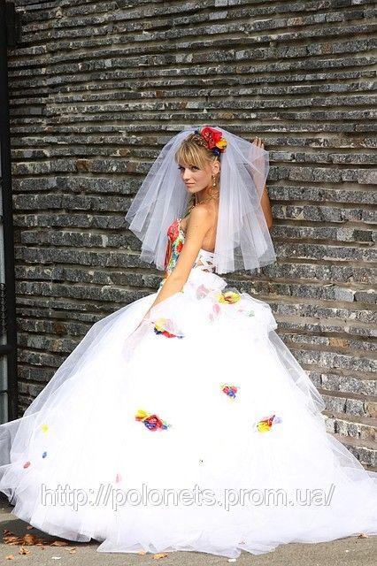 Ukrainian wedding dress Ethno Wedding Party Prom etc