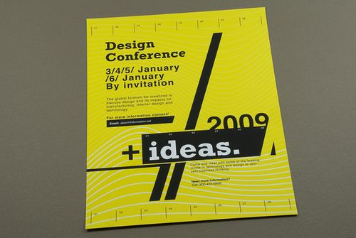 Contemporary Design Conference Flyer  Design Conference Flyer