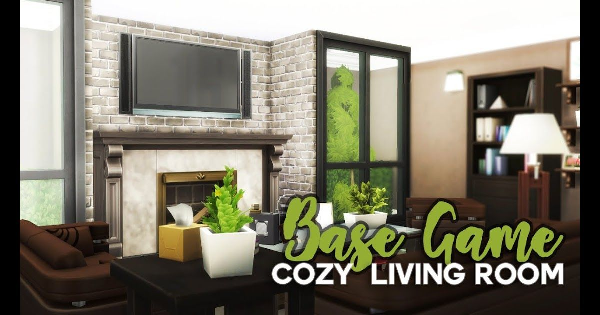 Base Game Room Build Cozy Living Room The Sims 4 Mod The Sims Family House No Cc Minimalist Bedroom Decor 14 Sple Sims 4 Bedroom Sims House Design Sims House