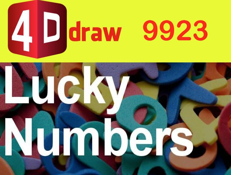 toto 4d lucky number today | Lottery 4d