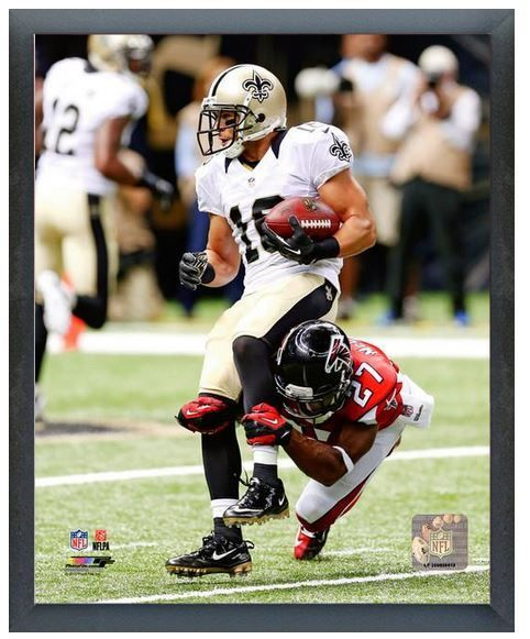 "Lance Moore 2013 New Orleans Saints -11"" x 14"" Photo in a Glassless Sports Frame"