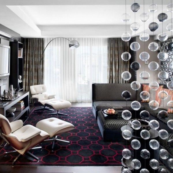 wohnzimmer-design-schick-modern-weiß-gemütlich-sessel | interieur ... - Wohnzimmer Design Gemutlich