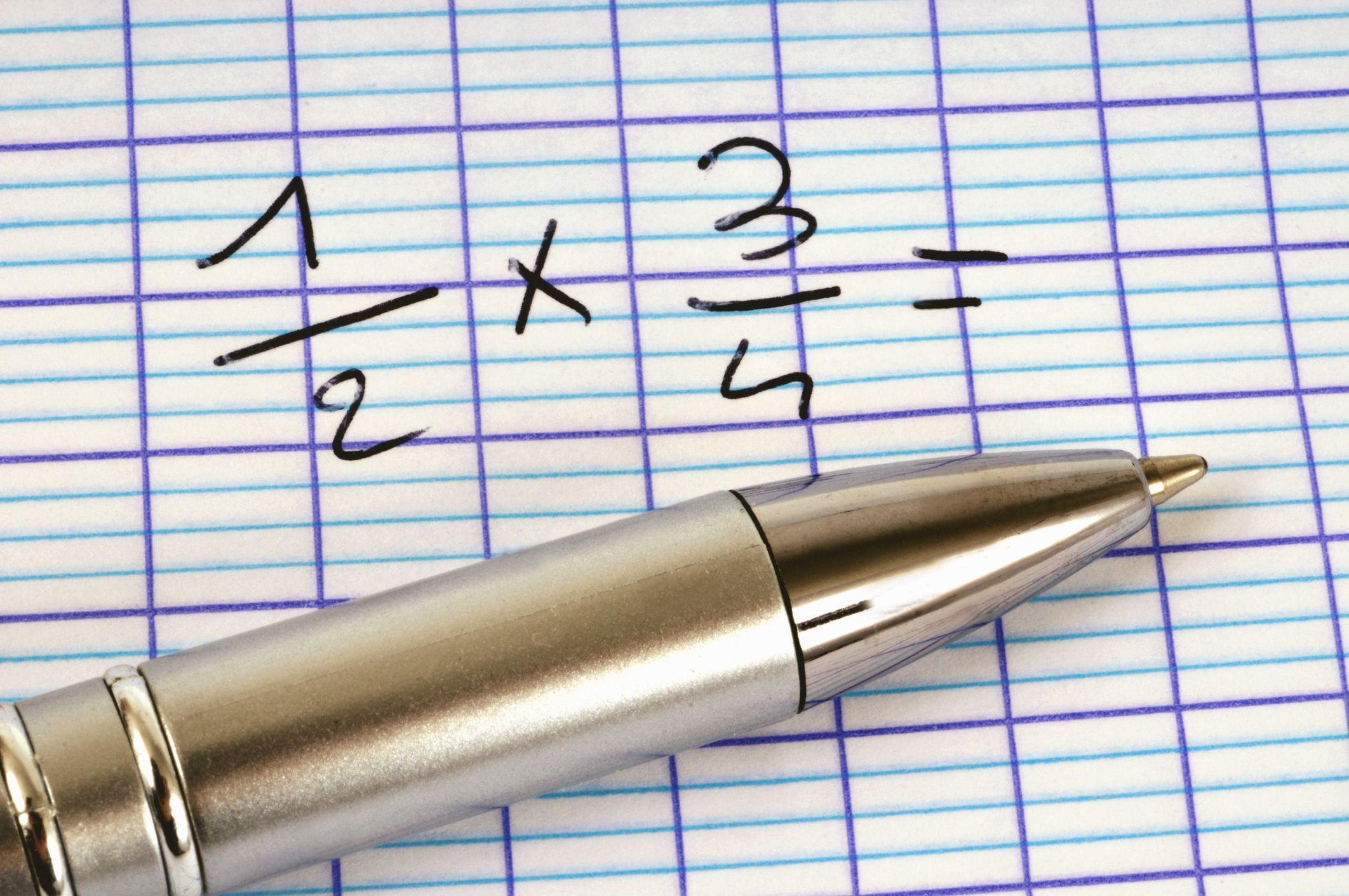 10 Worksheets On Multiplying Fractions With Common