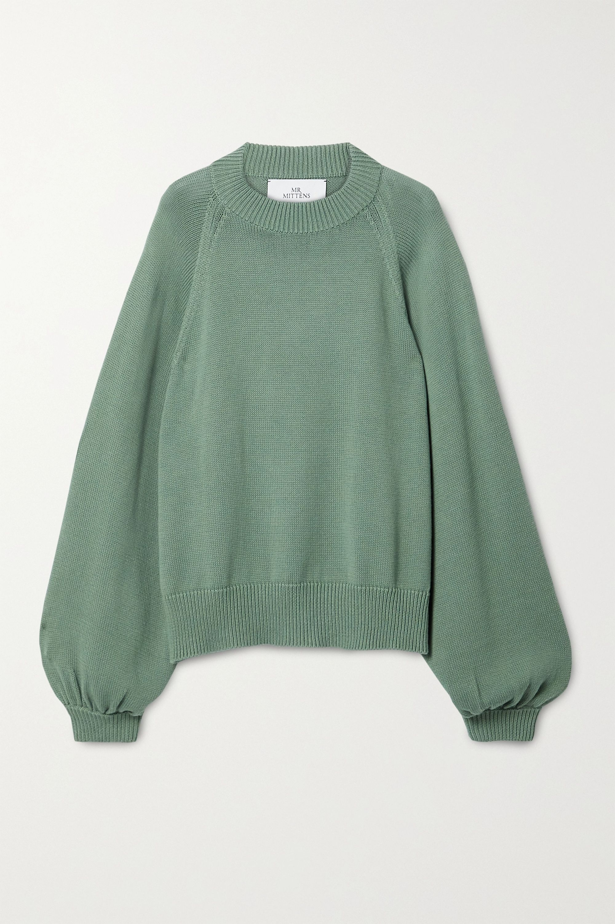 Green Oversized cotton sweater | I Love Mr Mittens in 2020