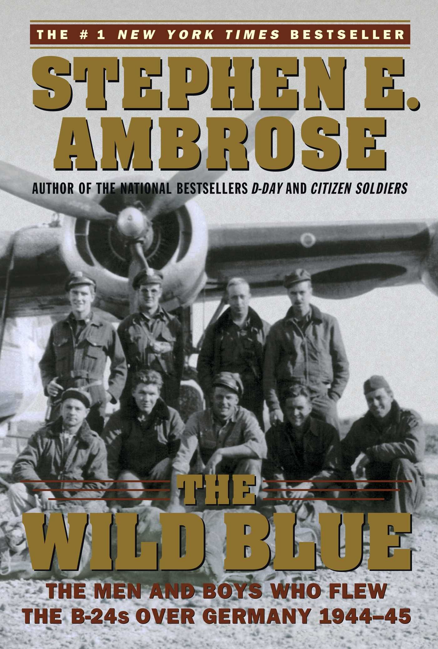 Image result for wild blue stephen ambrose summary books