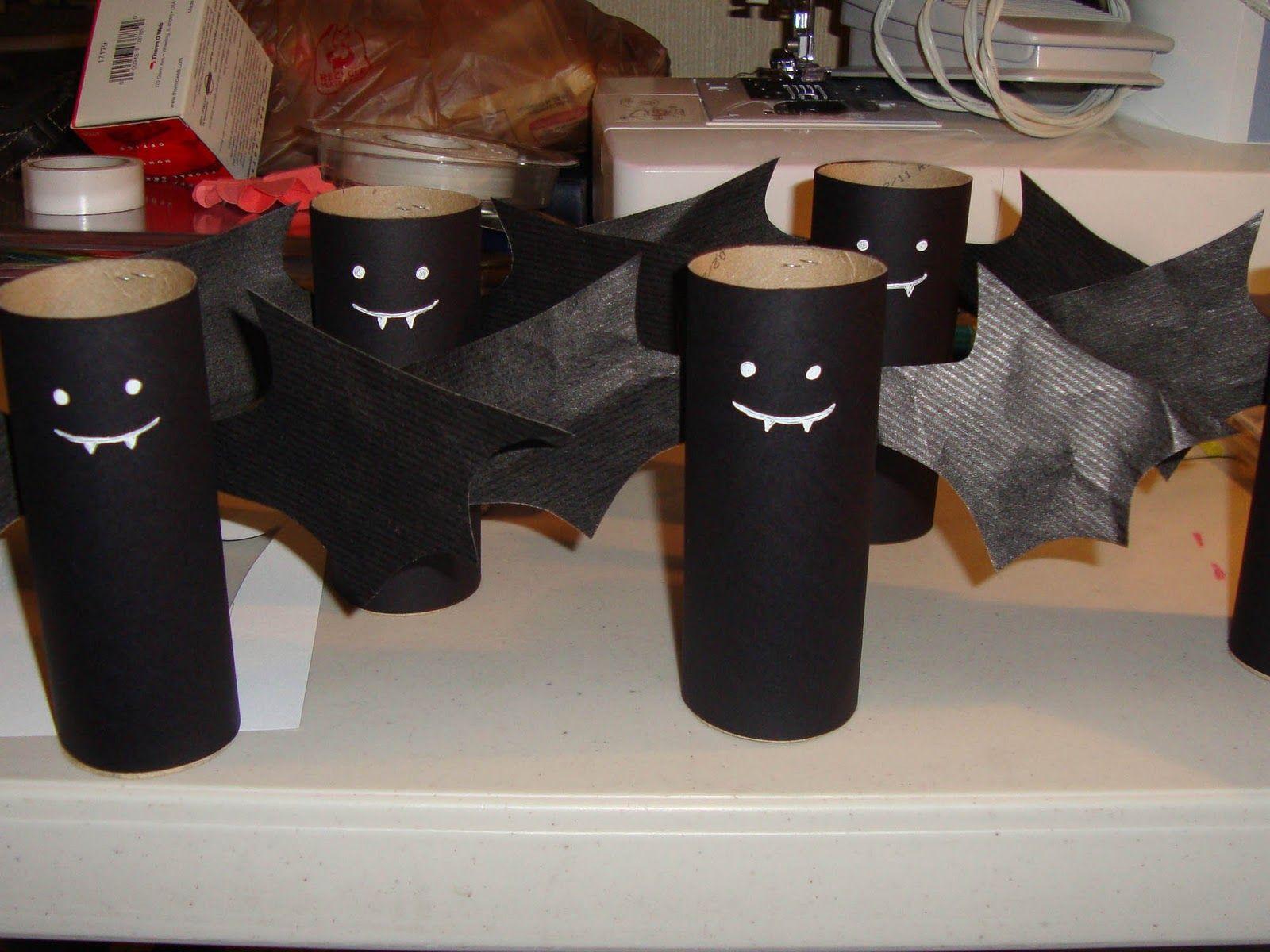 I M Batty Candy Party Favors Halloween Crafts Paper Bat