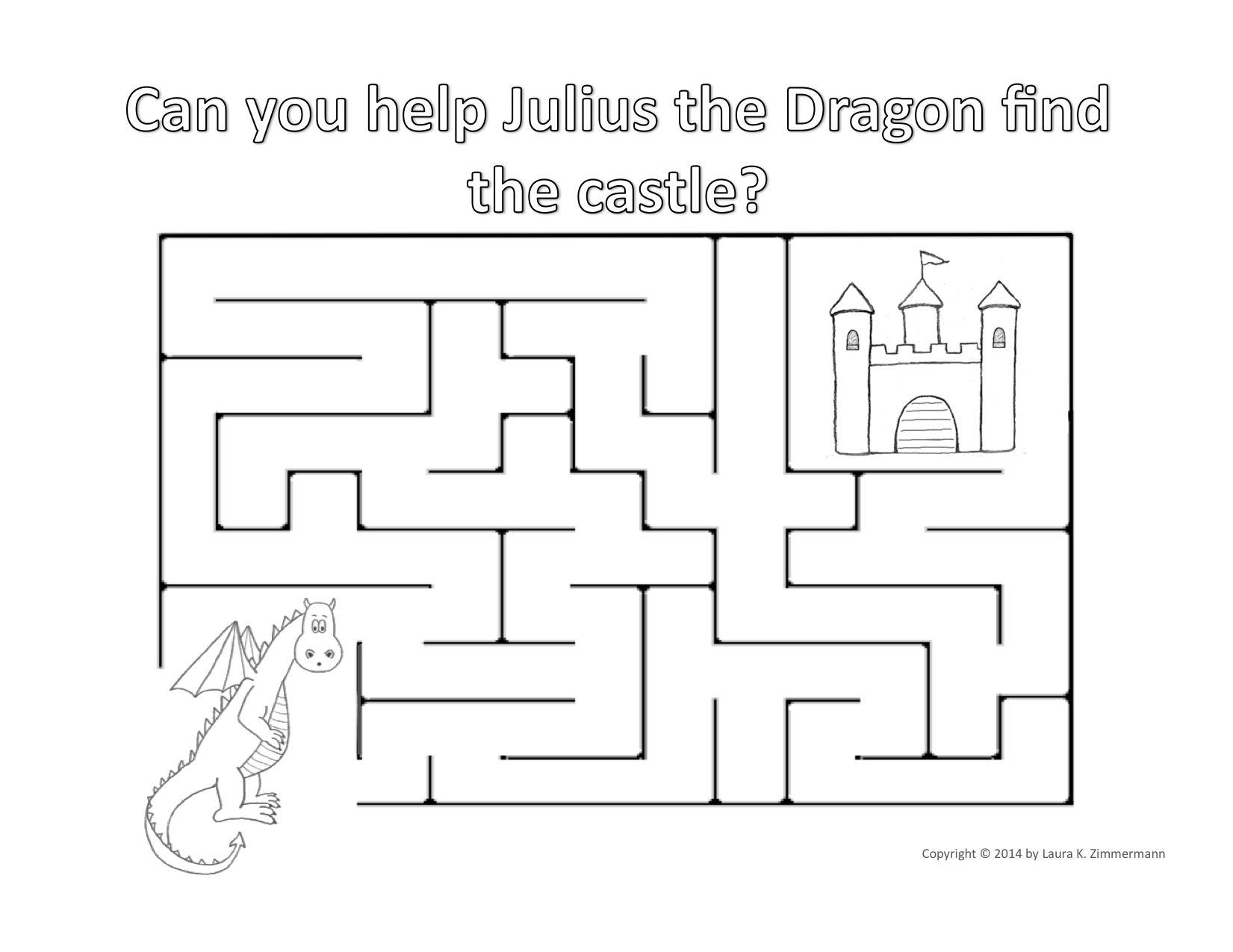 Julius The Dragon Castle Maze