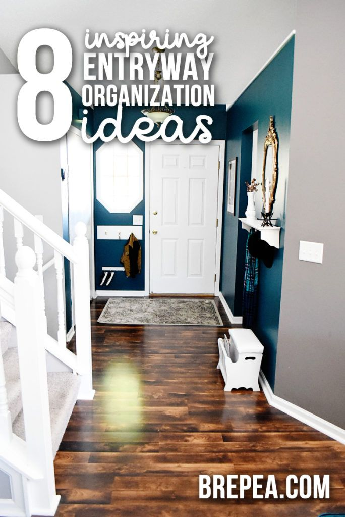 8 Inspiring Entryway Organization Ideas For Your Drop Zone