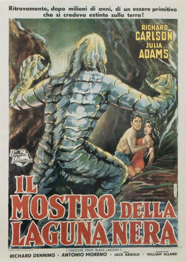 The Creature from the Black Lagoon (1954) (Italy)