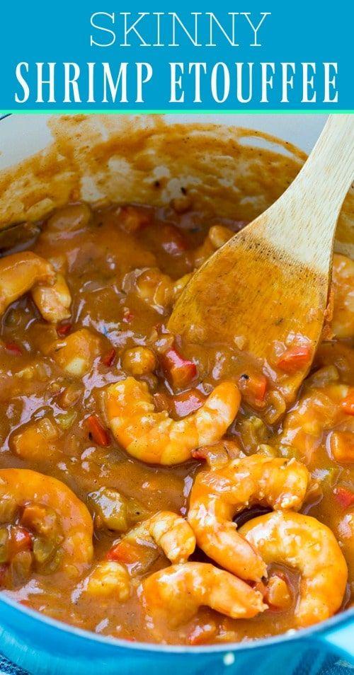Photo of Skinny Shrimp Etouffee #healthy #shrimp #mardigras