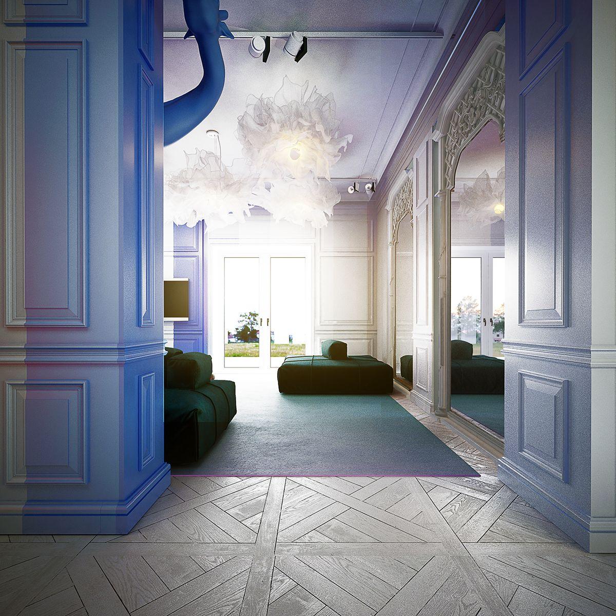 R Class Interior Design On Behance In 2019 Interior Interior