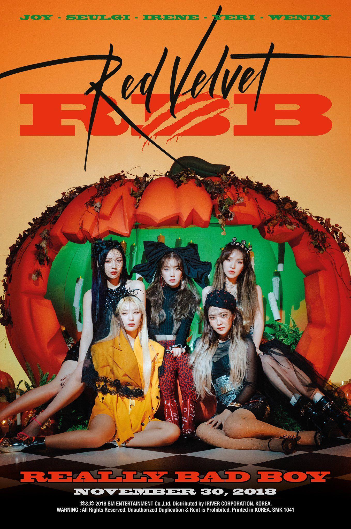 Joy Red Velvet - The 5th Mini Album RBB Really Bad Boy